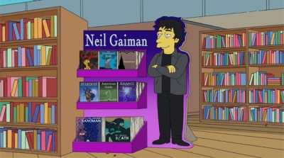 Neil Gaiman Simpsons
