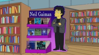 Neil Gaiman Simpsons