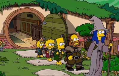 Lord of the Rings Simpsons