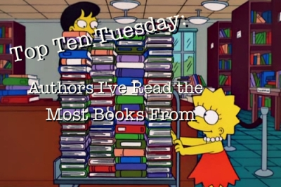 Top Ten Tuesday Simpsons