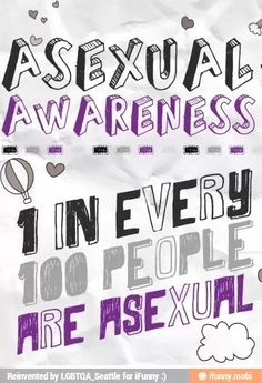 Asexual awareness week posters