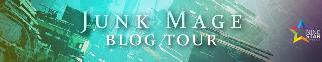 Junk Mage Elliot Cooper Blog Tour