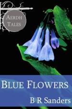 blue flowers ariah aerdh sanders