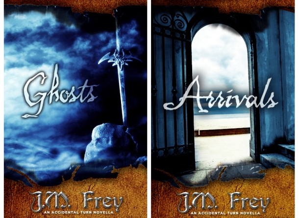 Ghosts & Arrivals by J.M. Frey